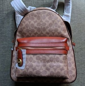 Coach Campus Backpack - NWT - Tan Rust/Brass